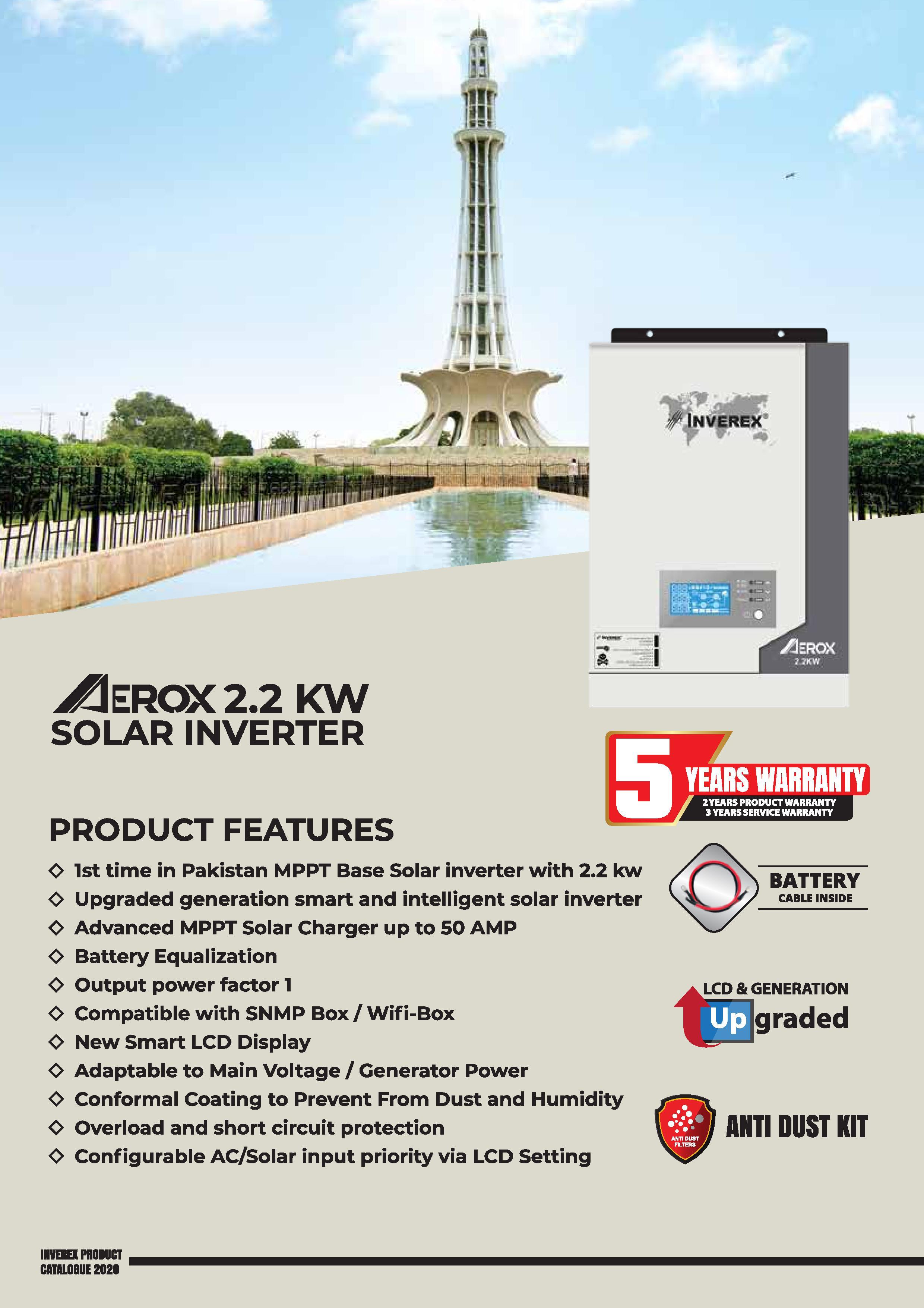 INVEREX-AEROX-2.2-KW-details